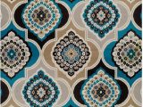 Home Goods area Rugs 5×8 Century Home Goods Collection Panal and Diamonds area Rug Blues 8×10 Contemporary Rugs Blue 8×11 area Rug 8×10 Under 100