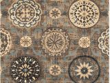 Home Goods area Rugs 5×8 Superior Designer 5 X 8 Abner Collection area Rug Taupe