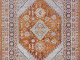 Home Goods area Rugs 7×9 Amazon Mashad Persian Terra orange Traditional area Rug