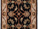 Home Goods area Rugs 7×9 Cranmore oriental Handmade Tufted Wool Black Beige area Rug
