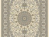 Huntington Home Hand Carved area Rug Dynamic Rugs Ancient Garden Ivory Classic Rectangle area Rug