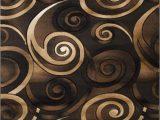 Huntington Home Hand Carved area Rug Spiral Swirls Modern Contemporary Hand Carved area Rug