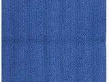 "Indigo Blue Bath Rugs Safavieh Plush Master Bath Collection Pmb720i Handmade Indigo Cotton Bath Mat 1 Feet 9 Inches by 2 Feet 10 Inches 1 9"" X 2 10"" Set Of 2"