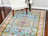 Indoor Outdoor area Rugs 5×7 Blue 5 2×7 2 area Rug Carpet New