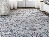 Inexpensive area Rugs Near Me Jonathan Y Modern Persian 8 X 10 Light Grey Red Square