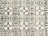 Ivory and Charcoal area Rug Safavieh Dip Dyed Ddy711d Ivory Charcoal area Rug