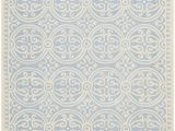 Ivory and Cream area Rugs Beautiful Ivory Pale Blue All Over Pattern Rug