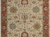 Ivory and Red area Rugs Capel Yazzie 1908 650 Ivory Red area Rug Rugs A Bound