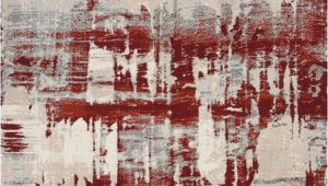Ivory and Red area Rugs Nourison Maxell Mae14 Ivory Red area Rug