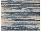 Ivory and Teal area Rugs Stripes Design Ivory Navy Teal area Rugs