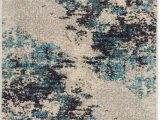 Ivory and Teal area Rugs Wrought Studio Shugart Ivory Teal Blue area Rug
