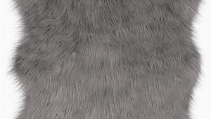 Jean Pierre New York area Rugs Jean Pierre Faux Fur 22 X 60 In Runner area Rug Dark Grey