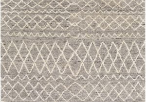 Jeannine Hand Tufted Wool Gray Ivory area Rug Himrod Hand Knotted Wool Taupe Brown area Rug