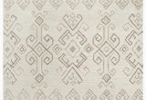 Jeannine Hand Tufted Wool Gray Ivory area Rug Pittard Hand Tufted Wool Ivory area Rug