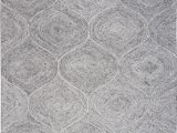 Jeannine Hand Tufted Wool Gray Ivory area Rug Rizzyhome Rugs