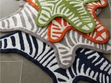 Jonathan Adler Bath Rug Zebra Bath Rug