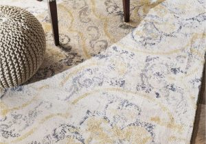 Kailee Printed Rug Porcelain Blue Bring In the Countryside Feeling with A Floral Pattern to