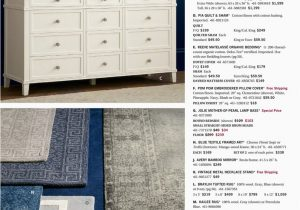 Kailee Printed Rug Porcelain Blue Pottery Barn Summer Bed & Bath D4 Kailee Handwoven Wool