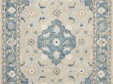 Kasuri Blue Multi Rug Ryeland by Magnolia Home Rye 05 Grey Blue Rug