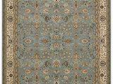 Kathy Ireland Rugs Blue Kathy Ireland Antiquities Royal Countryside Slate Blue area Rug by Nourison