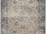 Kathy Ireland Rugs Blue Kathy Ireland Malta Mai13 Blue Ivory area Rug