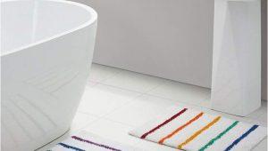 Kids Bathroom Rug Sets Vcny Home Rainbow Stripe 2 Pc Bath Rug Set & Reviews Bath