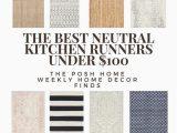 Kitchen Runner Rugs Bed Bath and Beyond the Best Bud Friendly Kitchen Rug Runners Under $100