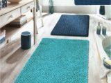 Kleine Wolke Bath Rugs Kleine Wolke Zagreb Sky Blue Bathroom Rug Bath Mat 21 11 16×33 1 2in