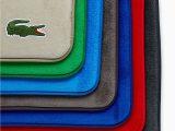 Lacoste Memory Foam Bath Rug Memory Foam Crocodile Bath Rug