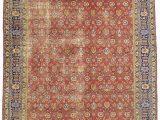 Large area Rugs 12 X 15 12 X 15 Vintage Persian Tabriz Rug