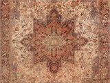Large area Rugs 12 X 15 Antique Geometric Heriz Serapi Rug Hand Knotted Living Room Carpet 12×15