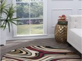 Large area Rugs Cheap Walmart Bliss Rugs Riverdale Contemporary Indoor Round area Rug