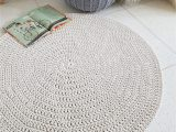 Large area Rugs for Nursery Modern Light Beige Round Rug Round area Rug Nursery Rug