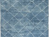 Large Blue Wool Rug Decorating with Blue area Rugs and Carpets by Dlb New York