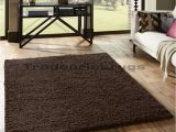 Large Dark Brown area Rugs Overstock Clearance Small Extra Large Shaggy 5cm Pile