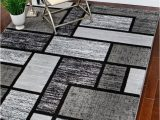 Large Gray and White area Rug Rugs area Rugs Carpet Flooring area Rug Floor Decor Modern