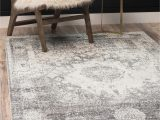Large Grey and White area Rug Gray 4 X 6 Brighella Rug Rugs