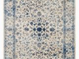 Large Half Moon area Rugs Persian Rugs 2817 Distressed Ivory 8 X 10 area Rug Carpet New