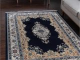 Large Navy Blue area Rug Rabia Navy Blue 10×13 area Rug In 2020