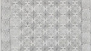 Large Off White area Rugs Chembra Bordered Trellis F White Rug