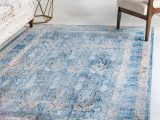 Large Round Blue Rug Blue 9 X 12 Brooklyn Rug Rugs