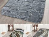Large Square Bathroom Rugs Dresslily Stone Printed Water Absorption area Mat