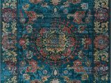 Large Teal Blue area Rugs 7 X 10 Vintage Teal Blue and Red area Rug Antika