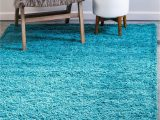 Large Teal Blue area Rugs Bravich Rugmasters Very Large Teal Blue Shaggy Rug 5 Cm Thick Shag Pile soft Shaggy area Rugs Modern Carpet Living Room Bedroom Mats 160×230 Cm 5ft3