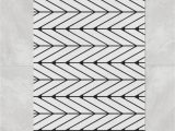 Large White Bath Rug Black White Herringbone Bath Mat