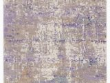 Lavender and Gray area Rug Hutchinson Abstract Gray Purple area Rug