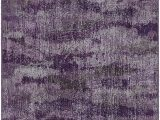 Lavender and Grey area Rug Brumlow Mills Rustic Abstract Bohemian Home Indoor area Rug with Contemporary Colorful Purple Print Pattern for Living…