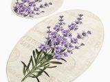 Lavender Bathroom Rug Sets Menomonie Lavender 2 Piece Bath Rug Set