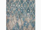 Leighton Blue area Rug Teasley Abstract Blue area Rug