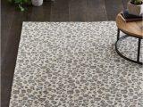 Leopard Print area Rug Target Elderberry Animal Print Woven Rug